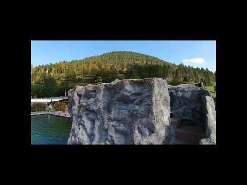 Naturerlebnisbad Baiersbronn-Mitteltal filmd with a DJI Phantom Vision 2+